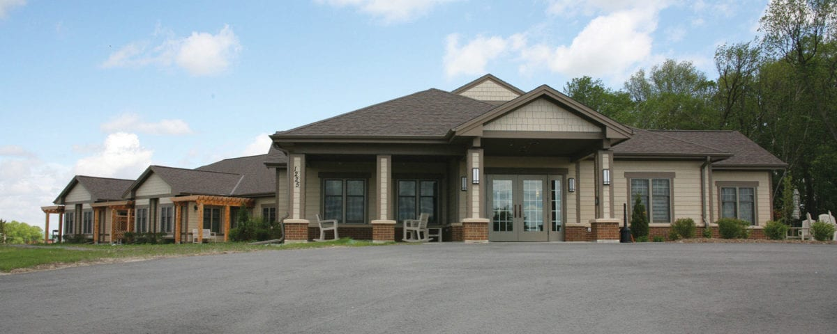 Exterior of Rainbow Hospice Care