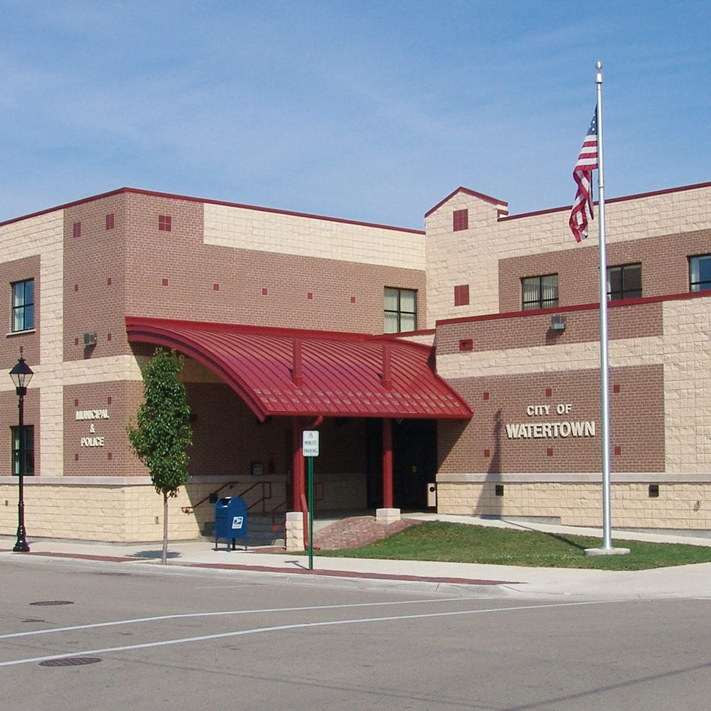Watertown WI Municipal and Police Building